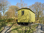 shepherds hut for glamping betws y coed