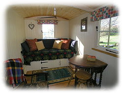 glamping nr betws-y-coed in hut