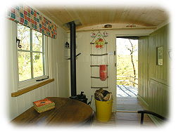 in the shepherds hut