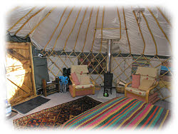 glamping nr betws-y-coed in yurt