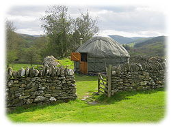 yurt nr betws-y-coed for glamping in snowdonia